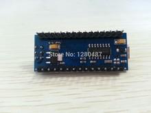 Freeshipping 5pcs Nano 3.0 controller compatible with for arduino nano CH340 USB driver NO CABLE NANO V3.0