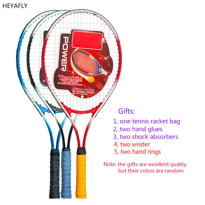 Tennis racket racquet in the first study of carbon men and women training, entertainment Sports Single racket