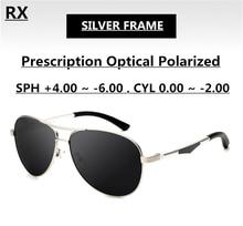 Grey Sunglasses Polarized Custom Prescription Eyewear for Men EXIA OPTICAL KD-101 Series