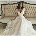 Wedding Dress Summer Simple A-line Lace Cap Sleeve Bridal Gowns Cheap For Bride vestido de noiva Beach louisvuigon  Dresses