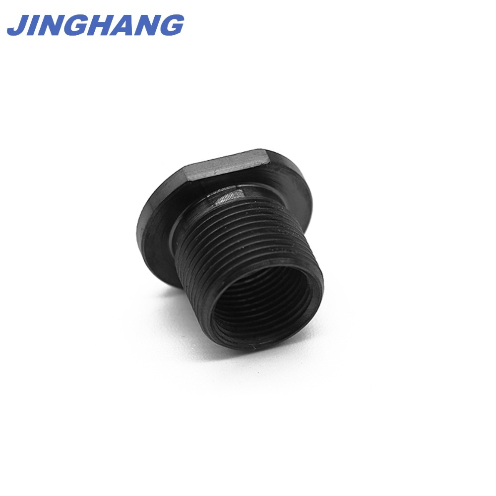 Barrel Thread Adapter 5.56 To .308 1/2-28 To 5/8-24, Black Oxide Finish, Shipping From CHINA / USA