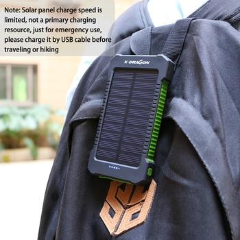 10000mAh Portable Solar Power Bank 5