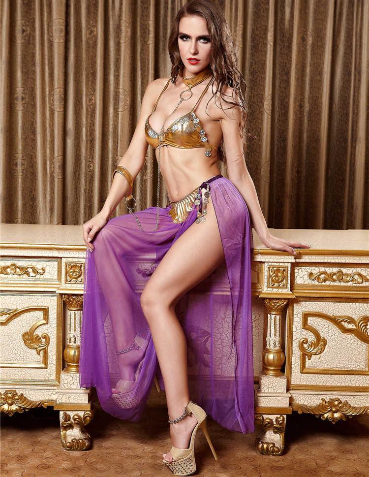 Harem Slave Porn - IDARMEE 3 Pcs Sexy Costumes Cosplay Princess Erotic Dress ...