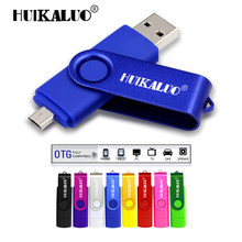 2 in 1 OTG usb flash drive 16gb 32gb pen drive 4gb 8gb usb flash 64gb memory stick usb stick pendrive for SmartPhone/Tablets/PC(China)