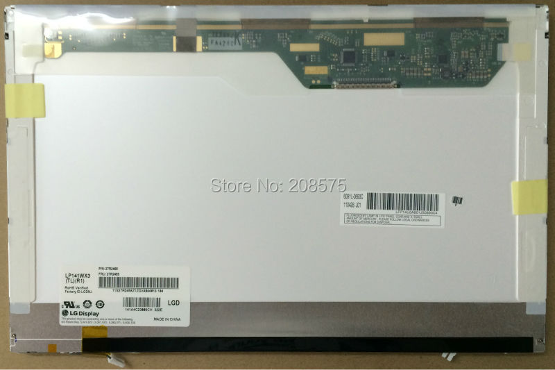 ФОТО Free shipping! LP141WX3 TLR1 14.1 inch LCD screen for IBM T400 R400 1280*800