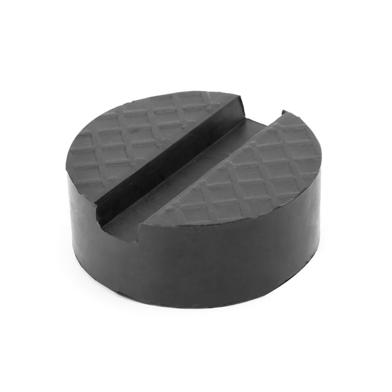 Black Durable Universal 4-tone Car Jack Rubber Pad Anti-skid Track Protector Support Car Repair Tools