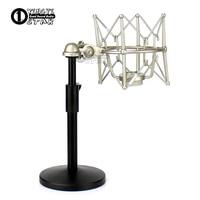 Metal Shock Mount Microphone Spider Mic Shockmount Desktio Stand For RODE Broadcaster NT1 NT2 NT1000 NT2000 K2 NTK NTR Podcaster