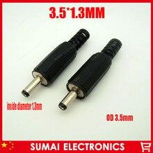 Припой тип провода DC Штепсель 3,5*1,3 разъем питания провод с вилкой вилка 3,5x1,3 адаптер вилка 200lap-top-ss/лот