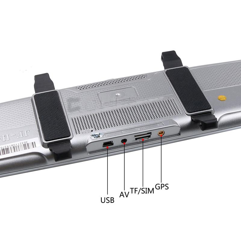 Allwinner Android Car DVR 8 Pollici ADAS Touch Screen Dash Cam Specchio Retrovisore Dash Fotocamera Dual Lens GPS di Navigazione wifi Bluetooth - 5