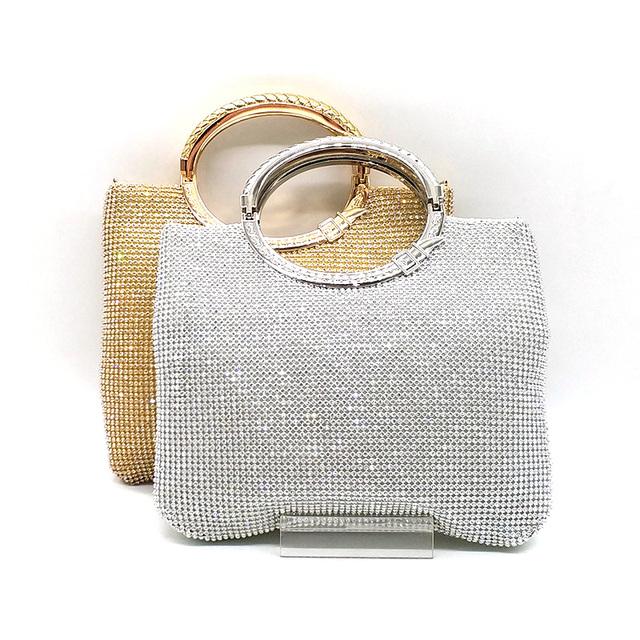 Women's Elegant Clutch Bag with Glitter Design