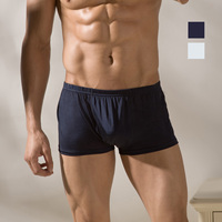 Mulberry silk panties knitted silk male mid waist small boxer panties plus size