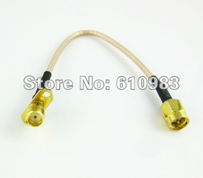 Free shipping (5 pieces/lot) extension cable SMA male to SMA female 2 HOLE panel mount connector pigtail cable RG316 3M free shipping 25th g7 770l classic spade speaker cable 2 5m without original box extension cable