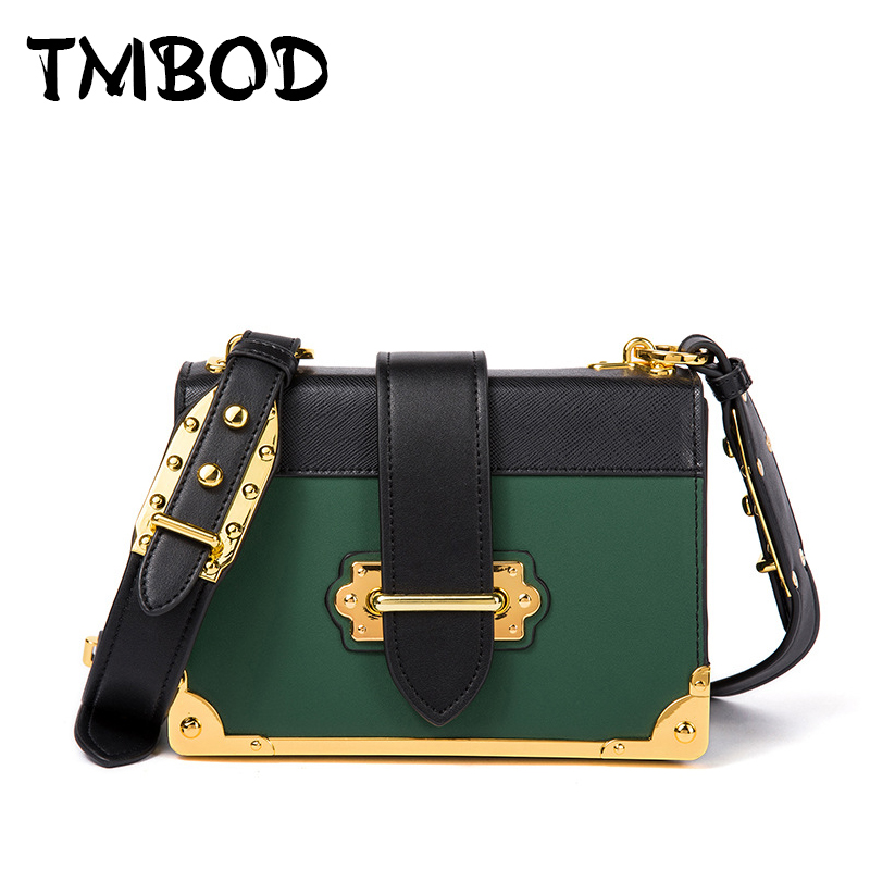 New 2018 Design Women Retro Flap Panelled Messenger Bag Split Leather Handbags For Female Chain Shoulder Bag bolsas an888 2017 fashion all match retro split leather women bag top grade small shoulder bags multilayer mini chain women messenger bags