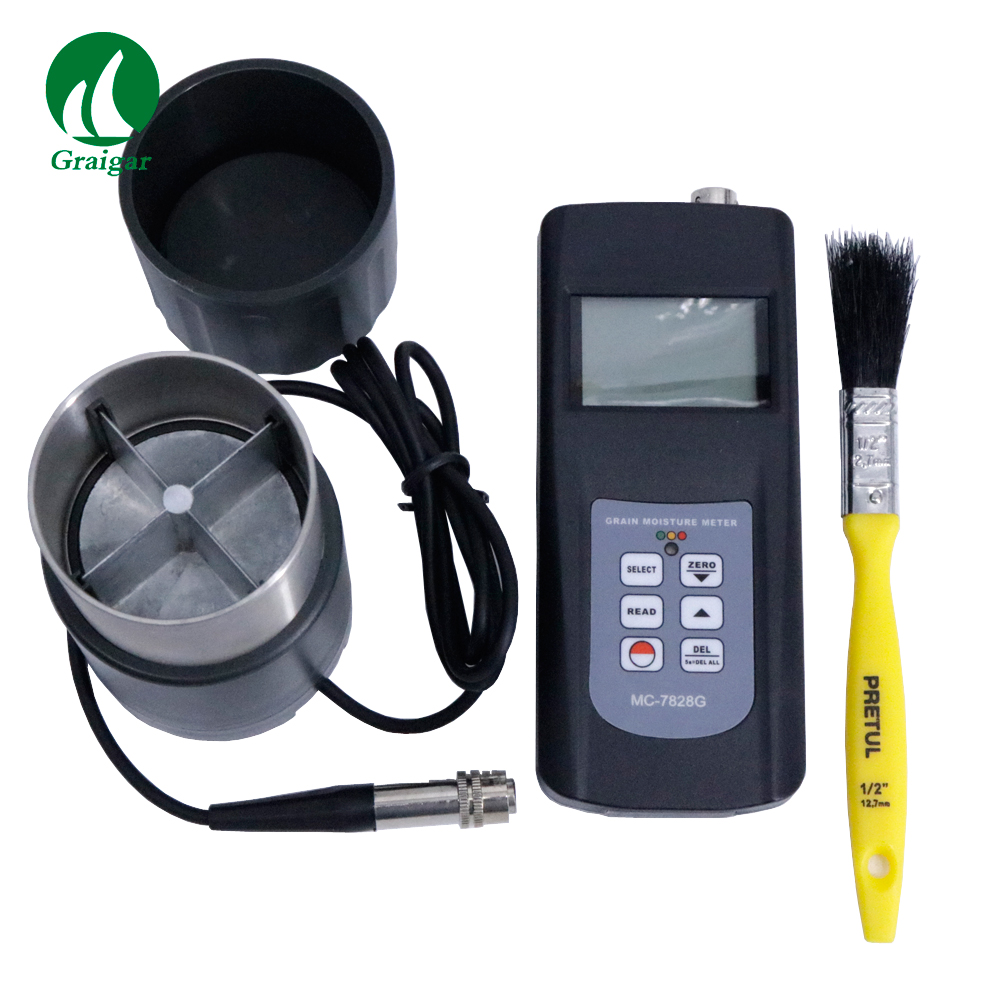 MC7828G Grain Moisture Meter Display LCD With Storage and Statistical Functions