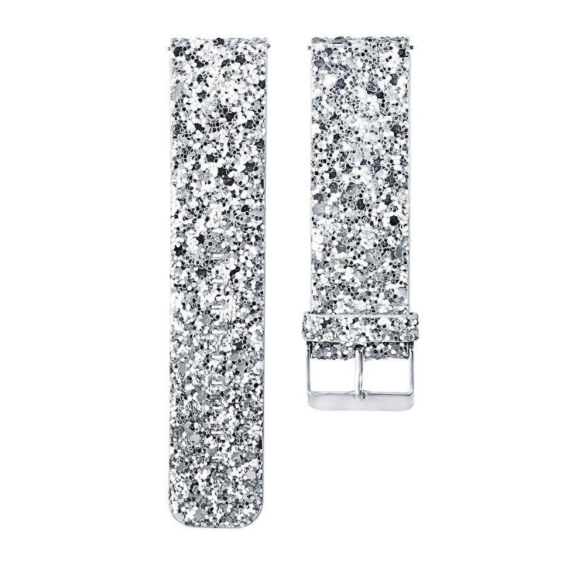 SILVER DIAMANTE BAND CRAFTING STRIP 8 ROWS X 1.5M WEDDING PARTY RHINESTONE NEW