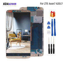 Для zte Axon 7 lcd A2017 A2017U A2017G дисплей сенсорный экран дигитайзер Запчасти для zte A2017 Axon7 экран ЖК-замена