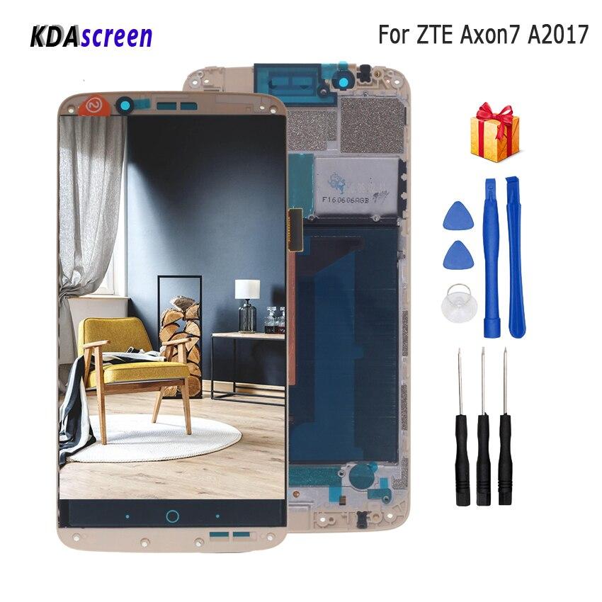 Per ZTE Axon 7 LCD A2017 A2017U A2017G Display Touch Screen Digitizer Parti Per ZTE A2017 Axon7 Schermo LCD Aseembly di ricambioPer ZTE Axon 7 LCD A2017 A2017U A2017G Display Touch Screen Digitizer Parti Per ZTE A2017 Axon7 Schermo LCD Aseembly di ricambio