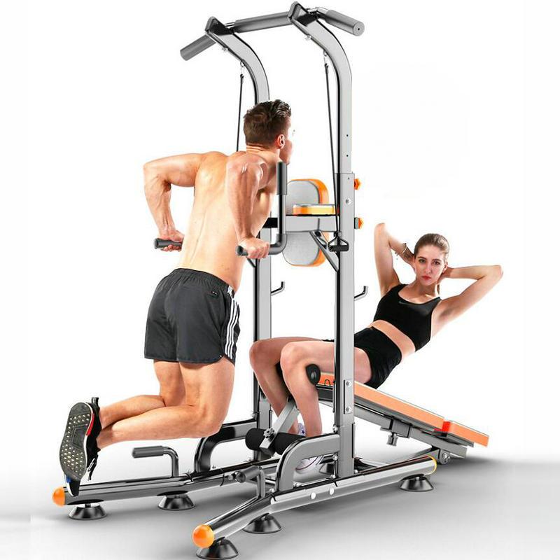Muiltifunctional famiglia di pull-up, parallele singoli interni, attrezzature per il fitness