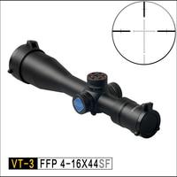 Discovery FFP Охота оптический VT 3 4 16X44 SF первый фокусное расстояние компактный взгляд маскировочный костюм Пневматическое оружие Сфера fit. 308win
