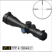 Discovery FFP hunting optical VT 3 4 16X44 SF First focal length compact sight Sniper Tactical Airgun Rifle Scope fit .308win