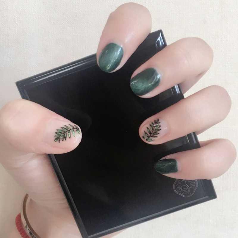 1 pc ongles estampage plaques hehe-052 feuille d'érable Patten ongles timbre modèles plaques en acier inoxydable bricolage Image outils d'impression 5.5 cm