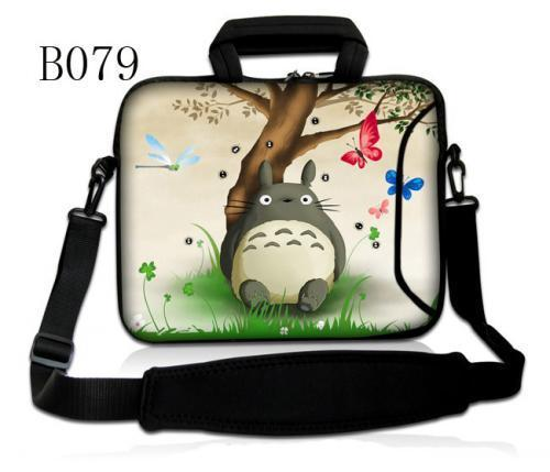 Totoro Fashion 17.3 inch Laptop Bag 17 Notebook Computer Bag Messenger Shoulder Bag Men Women Briefcase Business