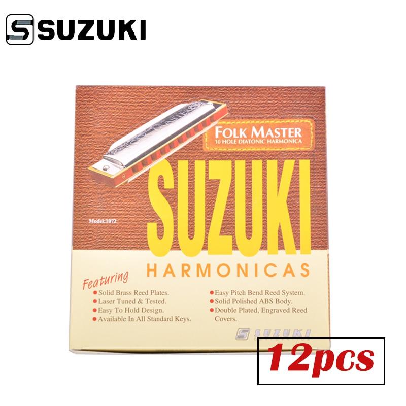 SUZUKI 1072-S Folkmaster Box Set Standard 10 փոս Diatonic - Երաժշտական գործիքներ - Լուսանկար 3