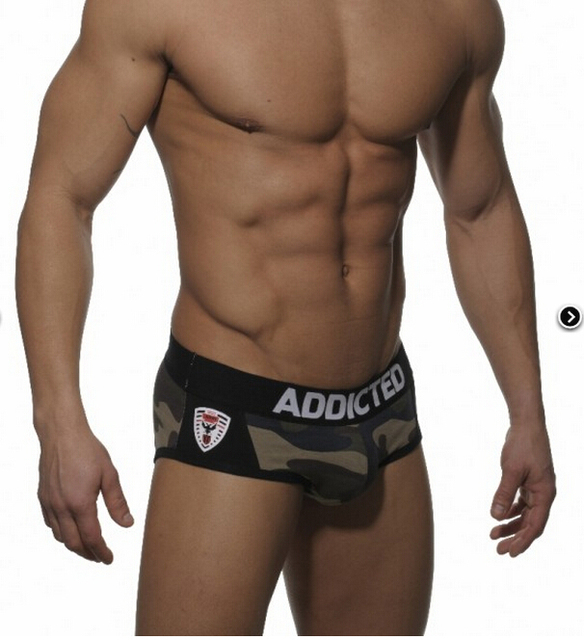 Cotton brand men underwear gay sous