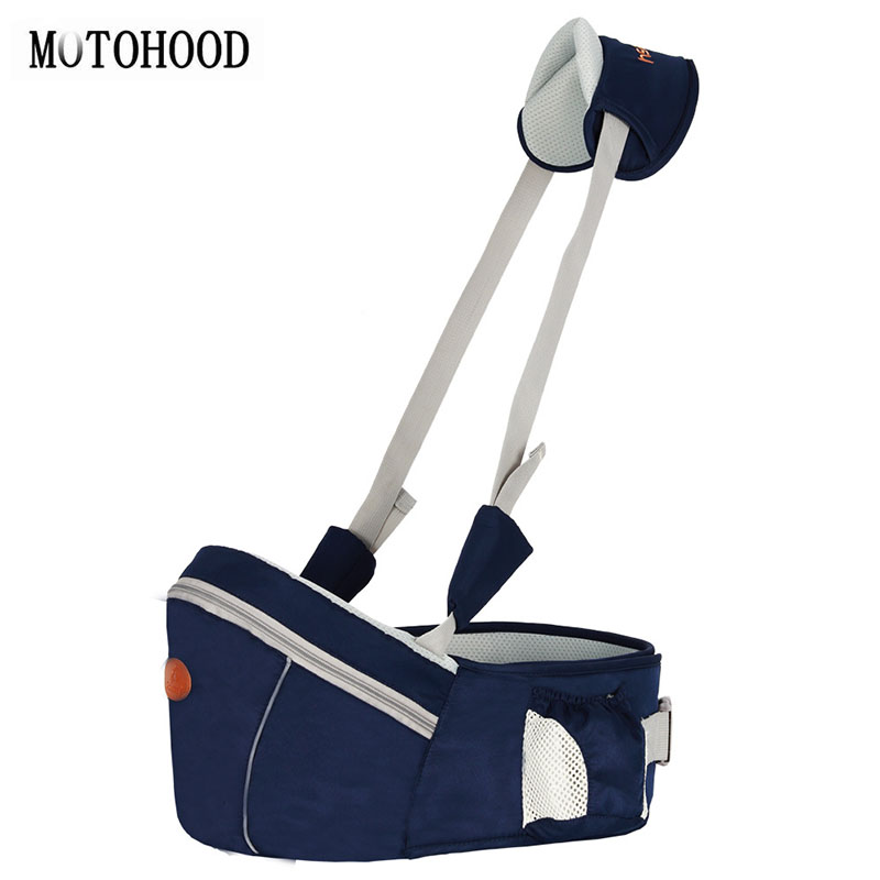 MOTOHOOD Baby Carrier Waist Stool Walkers Baby Sling Hold Waist Belt Backpack Hipseat Belt Kids Infant Hip Seat Breathable