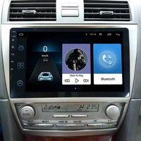 LEEWA 10,2 больше HD Экран Android 6,0 4 ядра медиа плеер с gps Navi Радио для Toyota Camry XV40 /Daihatsu Altis