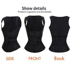 Image 5 - HEXIN латексный утягивающий корсет для талии, корсет с высокой степенью сжатия, женское утягивающее белье на молнии, нижнее белье