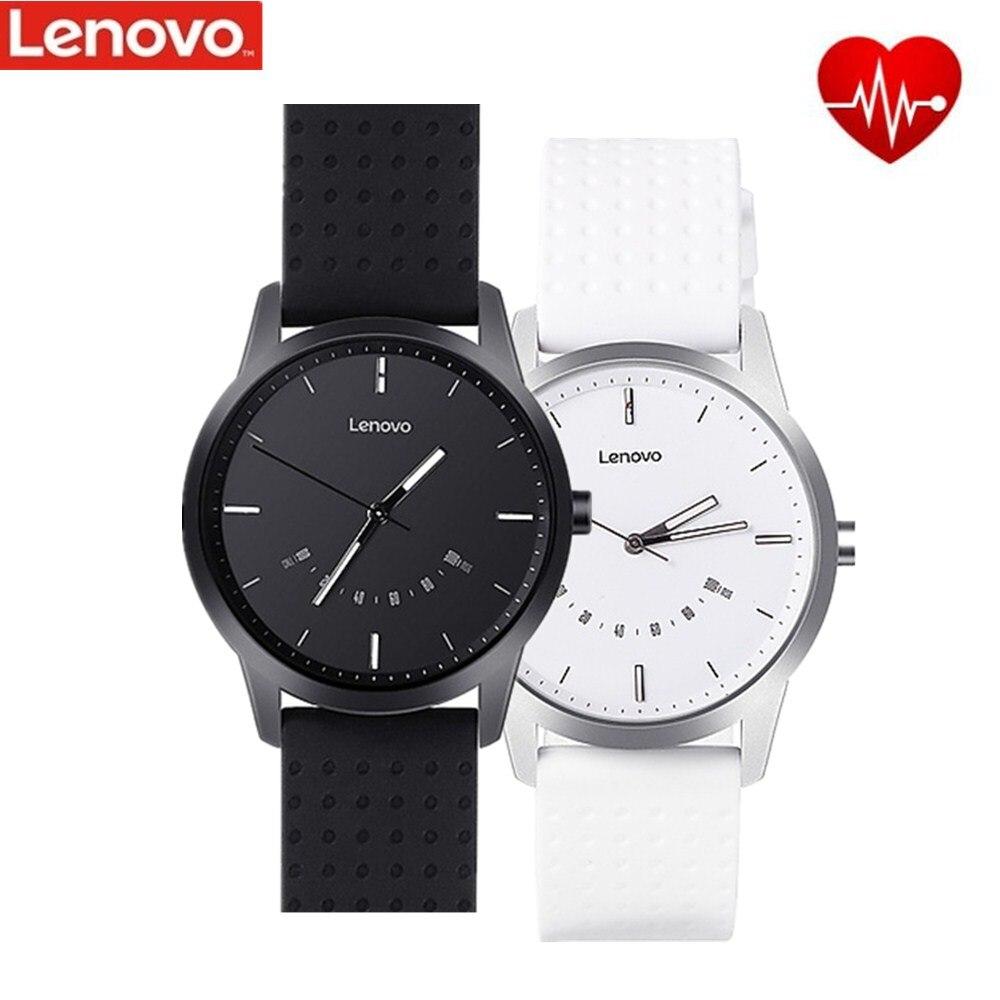 Original Lenovo Uhr 9 Smart Uhr 5ATM Wasserdichte Intelligente Ausrichtung zeit Telefon Anrufe Erinnert Smart Uhr Männer für Android