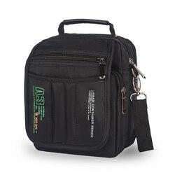 3723 homens mensageiro sacos casuais multifunction pequenos sacos de viagem à prova dwaterproof água estilo ombro moda militar crossbody sacos