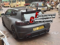 FOR CARBON FIBER Universal 51 RX8 MX 5 RX7 FC FD3S M3 M6 GT WING REAR SPOILER