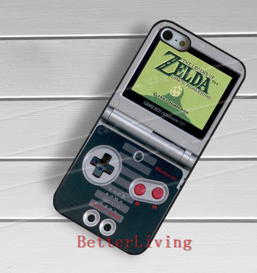 Gameboy advance zelda fashion cell phone cover case for samsung galaxy S3 S4 S5 S6 edge S7 edge Note 3 4 5 #wt197