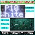 P10 Полу-открытый Модуль СВЕТОДИОДНЫЙ Дисплей Белый, Доска объявлений, P10 LED Фирменный Знак бегущая строка