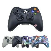 Bezprzewodowa Bluetooth Kontroler Dla Konsoli Xbox 360 Gamepad Joystick Dla X pole 360 Soc Jogos Win7/8 Win10 PC Gry Joypad Dla Xbox360