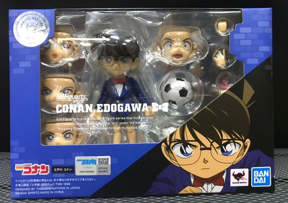 """Giappone Anime """"Detective Conan"""" Originale BANDAI MALIGNI Tamashii Nazioni S. h. figuarts/SHF Action Figure Conan Edogawa-in Action figure e personaggi giocattolo da Giocattoli e hobby su  Gruppo 2"""