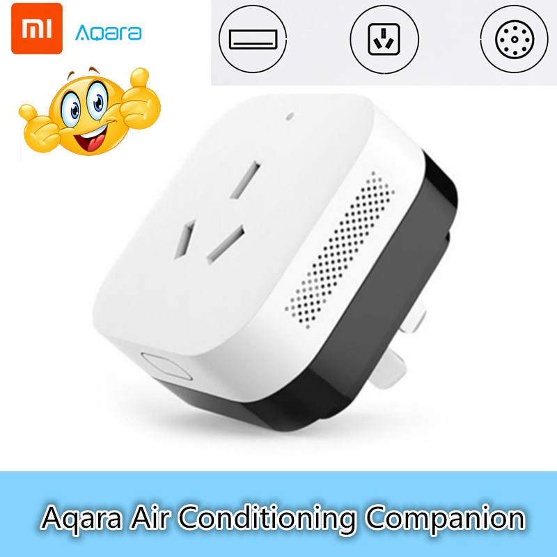 Xiaomi Aqara Air Conditioning Companion With Temperature Humidity Sensor Gateway Linkage Function Mihome Smart App Control