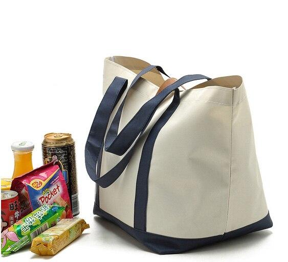 Новый дизайн водонепроницаемый Оксфорд полиэстер рекламные сумки для покупок продуктовые сумки с доступны на заказ - 5