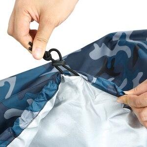 Image 5 - المهنية غطاء قارب العالمي التمويه قارب كاياك قارب مقاوم للماء UV مقاومة الغبار غطاء التخزين درع غطاء قارب