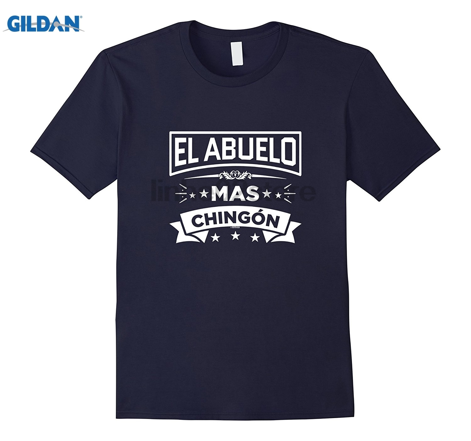 GILDAN El Abuelo Mas Chingon Funny Spanish T Shirt Tee II Dress female T-shirt