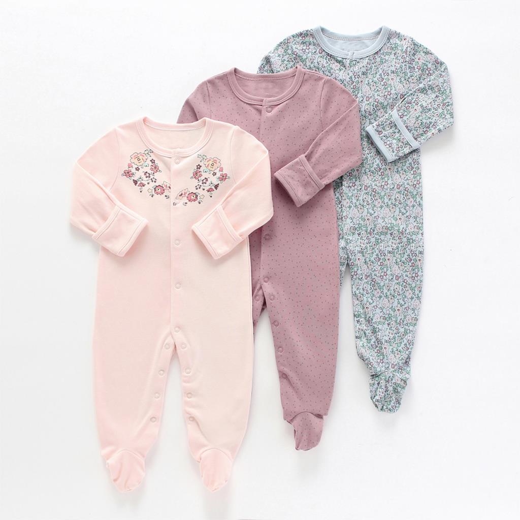 Детский комбинезон с длинным рукавом, для новорожденных 3
