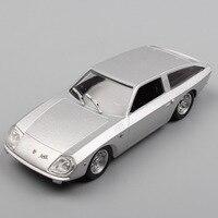 1:43 Schaal LEO vintage oude 4000 GT Vliegende Ster II concept auto 1966 auto voertuigen Touring engine racing metal diecast model speelgoed