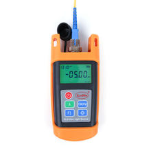 Handheld 1310/1550nm Singlemode Optical Laser Source Komshine KLS-25M-S Fiber Optic Light Source with SC