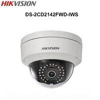 In Stock Hikvision English 4MP Mini Dome Wifi IP Camera DS 2CD2142FWD IWS 4MP CCTV Camera