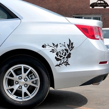 Online Get Cheap Butterfly Flower Vinyl Car