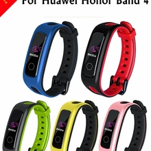 Модный спортивный силиконовый ремешок для huawei Honor 4, умные часы для бега, спортивный браслет, браслет на память 4 Correa