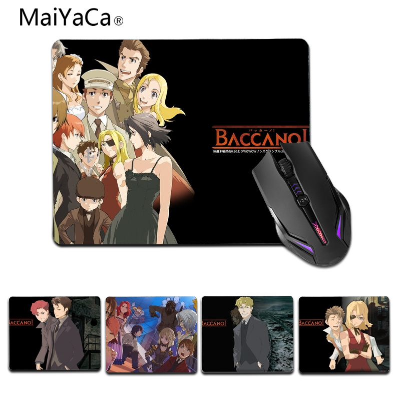 Industrious Maiyaca Japanese Manga Gamer Play Mats Rubber Mouse Pad Size For 25x29cm 18x22cm Gaming Mousepads Computer & Office