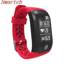 Smartch GPS Спорт Смарт сердечного ритма IP68 Водонепроницаемый S908 Bluetooth 4.2 сна Мониторы Шагомер умный Браслет для Android IO